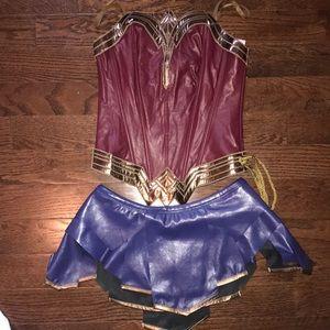 Wonder Woman costume!